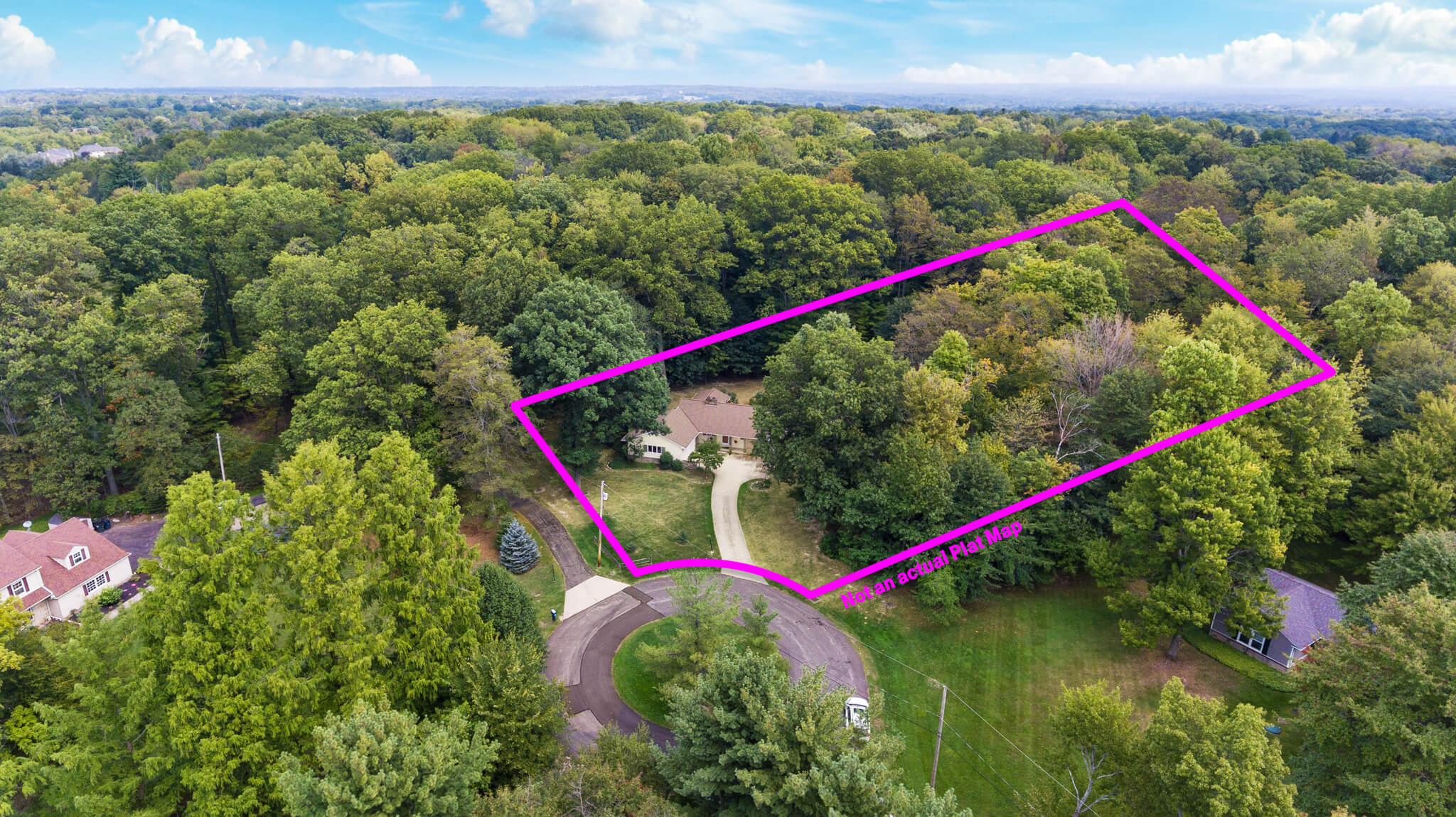 Over 2 acres of space at 4349 Orandale Dr in Chagrin Falls